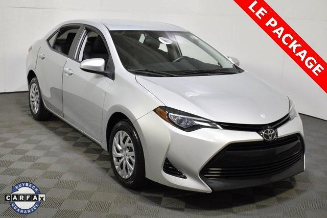 used 2017 Toyota Corolla car, priced at $16,946