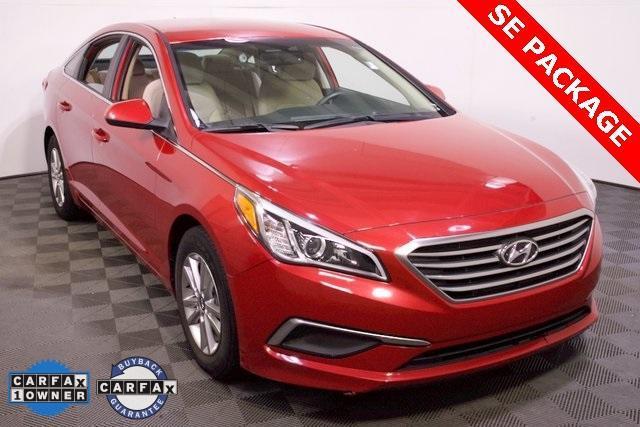 used 2017 Hyundai Sonata car, priced at $15,242
