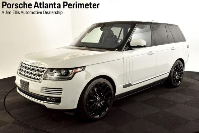 used 2017 Land Rover Range Rover car, priced at $63,950