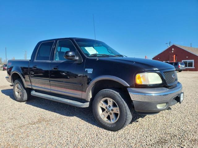 used 2002 Ford F-150 car, priced at $9,995