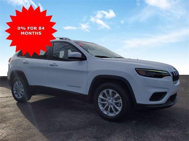 new 2021 Jeep Cherokee car, priced at $27,805