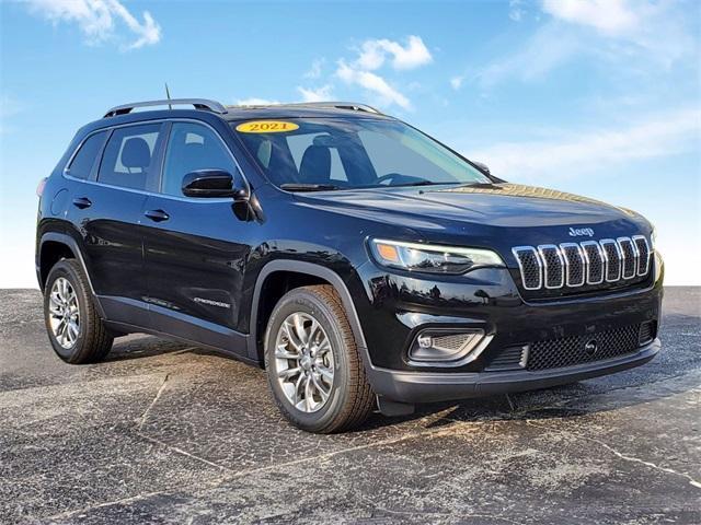new 2021 Jeep Cherokee car, priced at $30,345