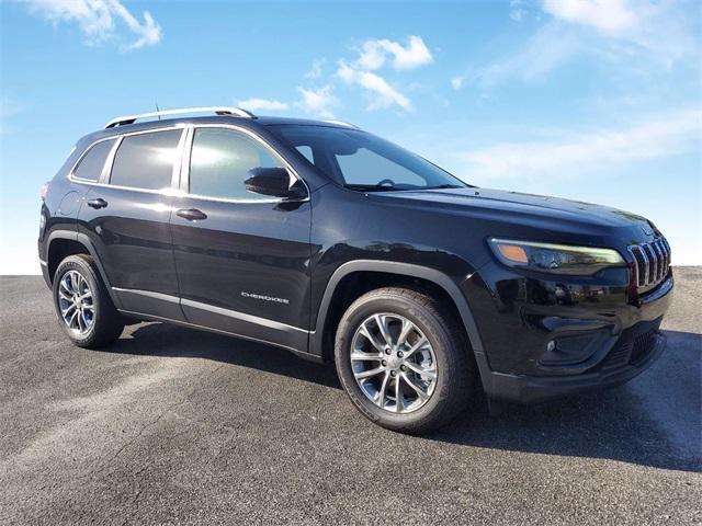 new 2021 Jeep Cherokee car, priced at $33,145
