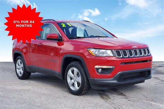new 2021 Jeep Compass car, priced at $27,635
