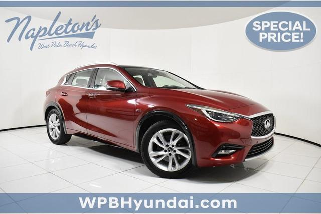 used 2017 INFINITI QX30 car, priced at $22,712