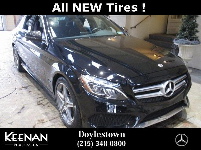 used 2018 Mercedes-Benz C-Class car, priced at $36,861