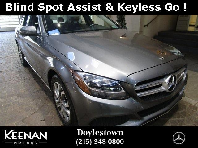 used 2018 Mercedes-Benz C-Class car, priced at $36,871