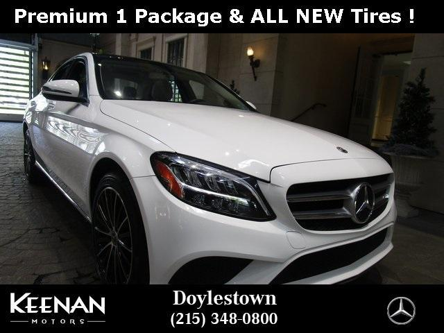 used 2019 Mercedes-Benz C-Class car, priced at $37,891