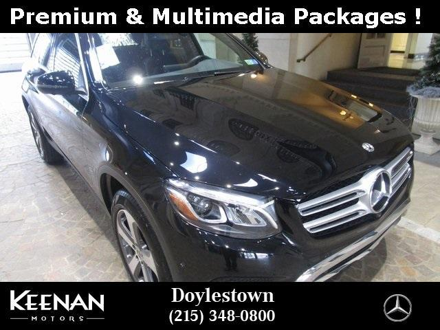 used 2018 Mercedes-Benz GLC 300 car, priced at $36,871
