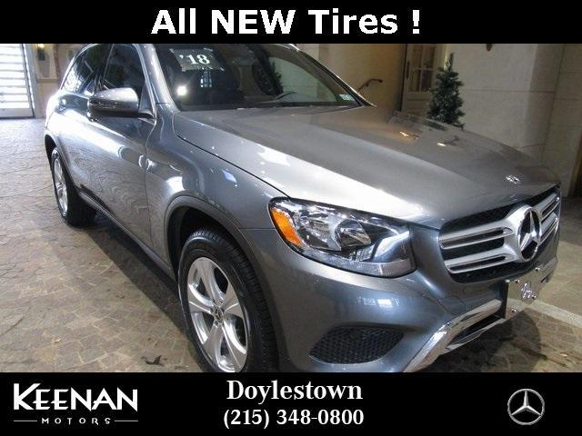 used 2018 Mercedes-Benz GLC 300 car, priced at $37,861