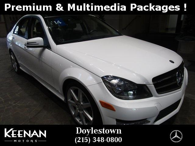 used 2014 Mercedes-Benz C-Class car, priced at $19,891