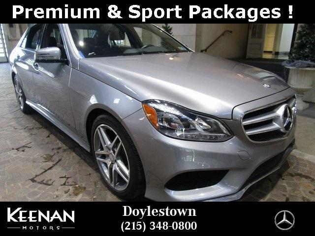 used 2014 Mercedes-Benz E-Class car, priced at $26,871