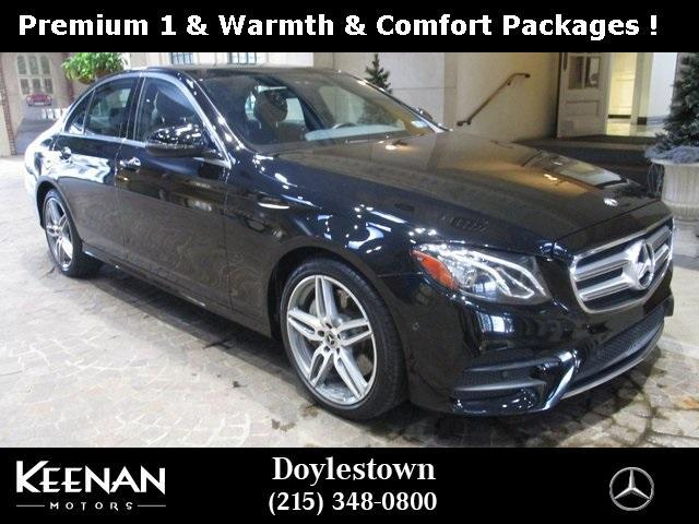 used 2018 Mercedes-Benz E-Class car, priced at $45,871