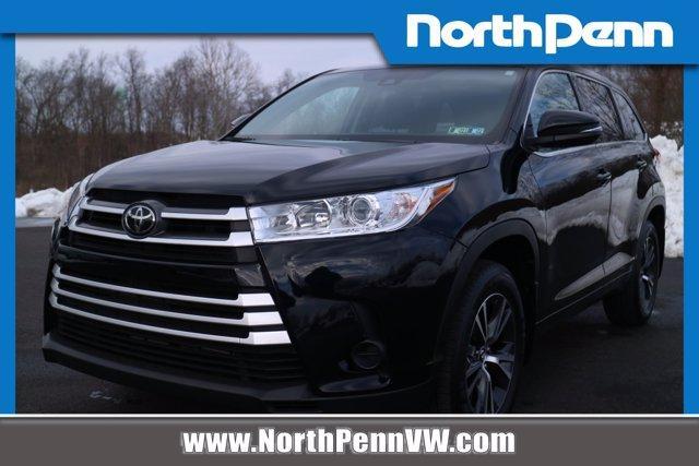 used 2018 Toyota Highlander car, priced at $27,850