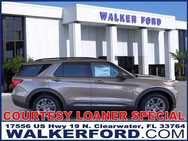 new 2021 Ford Explorer car, priced at $41,620