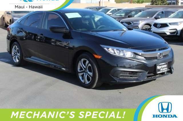 used 2016 Honda Civic car, priced at $5,995