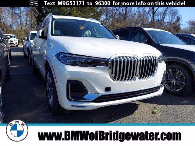new 2021 BMW X7 car