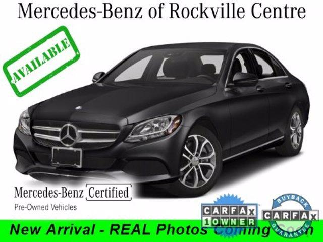 used 2018 Mercedes-Benz C-Class car, priced at $34,218