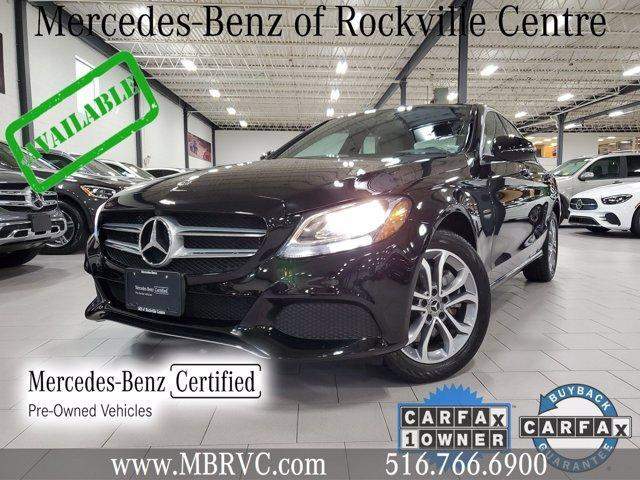 used 2018 Mercedes-Benz C-Class car, priced at $33,854