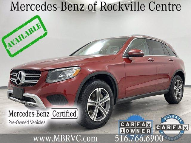 used 2018 Mercedes-Benz GLC 300 car, priced at $35,970