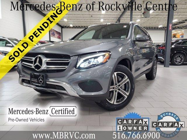 used 2018 Mercedes-Benz GLC 300 car, priced at $36,755