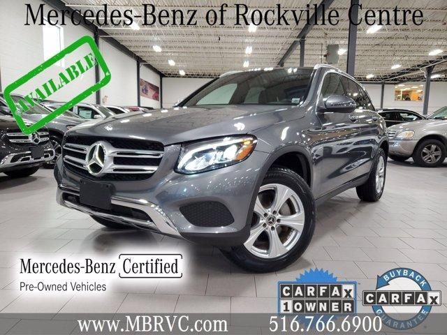used 2018 Mercedes-Benz GLC 300 car, priced at $36,243