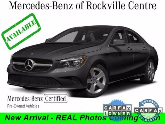 used 2018 Mercedes-Benz CLA 250 car, priced at $31,850