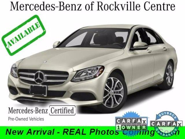 used 2018 Mercedes-Benz C-Class car, priced at $34,836