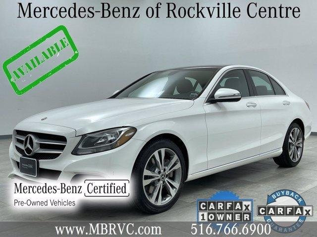 used 2018 Mercedes-Benz C-Class car, priced at $32,636