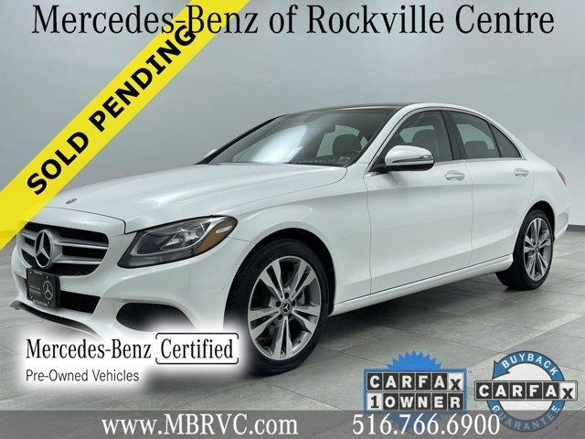used 2018 Mercedes-Benz C-Class car, priced at $32,426