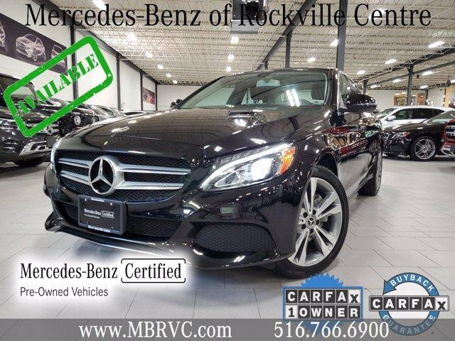 used 2018 Mercedes-Benz C-Class car, priced at $32,882