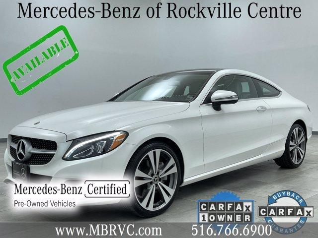 used 2018 Mercedes-Benz C-Class car, priced at $39,715