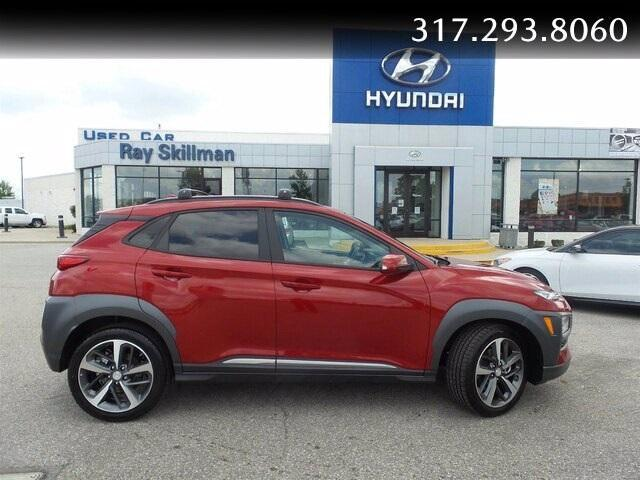 new 2021 Hyundai Kona car, priced at $28,595