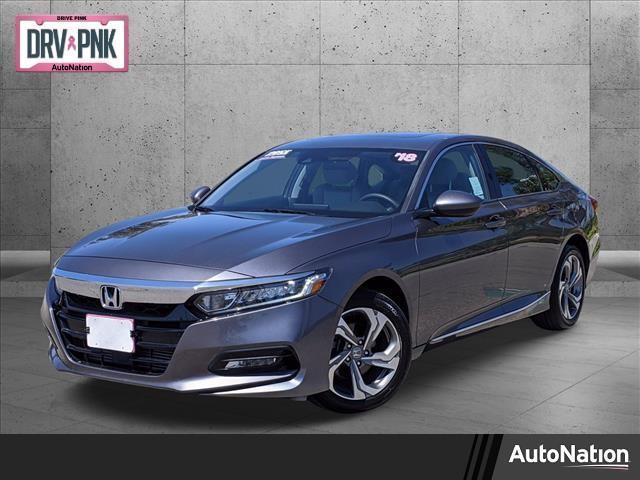 used 2018 Honda Accord car, priced at $23,495