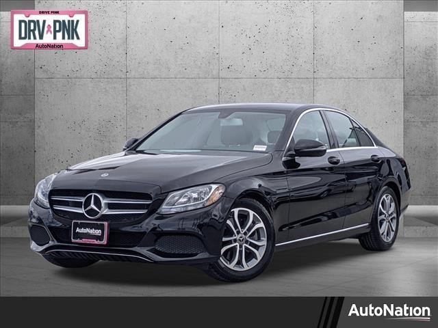 used 2017 Mercedes-Benz C-Class car, priced at $22,495
