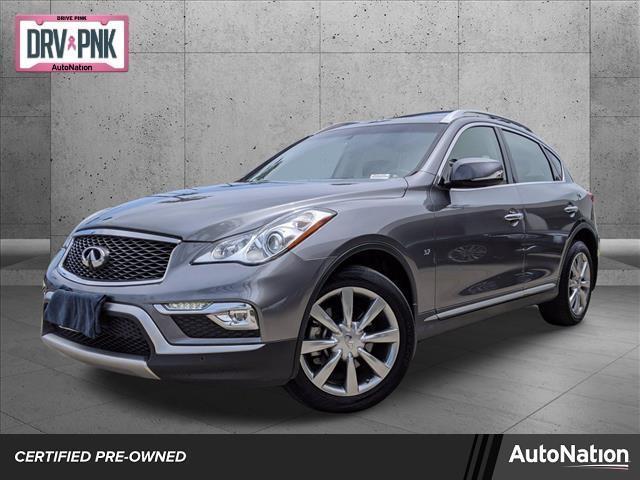 used 2017 INFINITI QX50 car, priced at $23,895