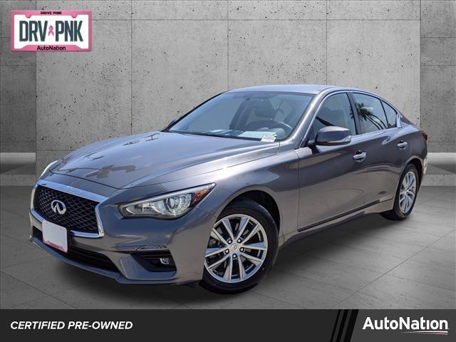 used 2018 INFINITI Q50 car, priced at $22,985