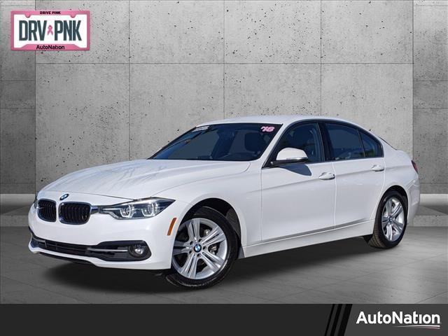 used 2018 BMW 330 car, priced at $25,985