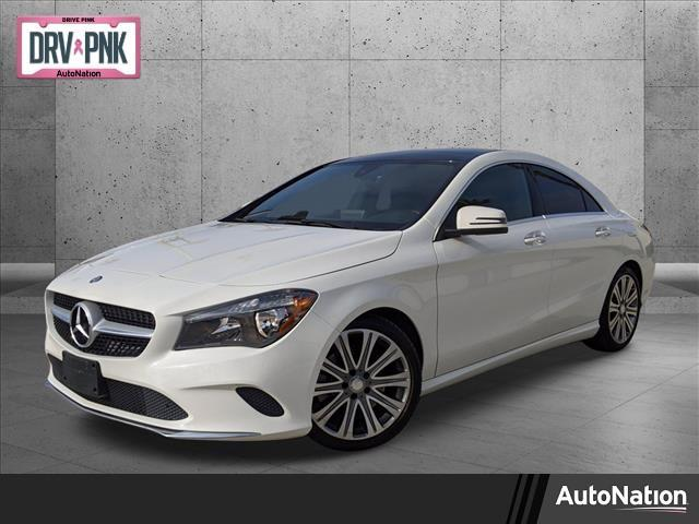 used 2018 Mercedes-Benz CLA 250 car, priced at $25,895