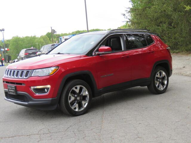 used 2018 Jeep Compass car, priced at $27,626