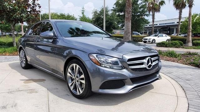 used 2017 Mercedes-Benz C-Class car, priced at $29,345