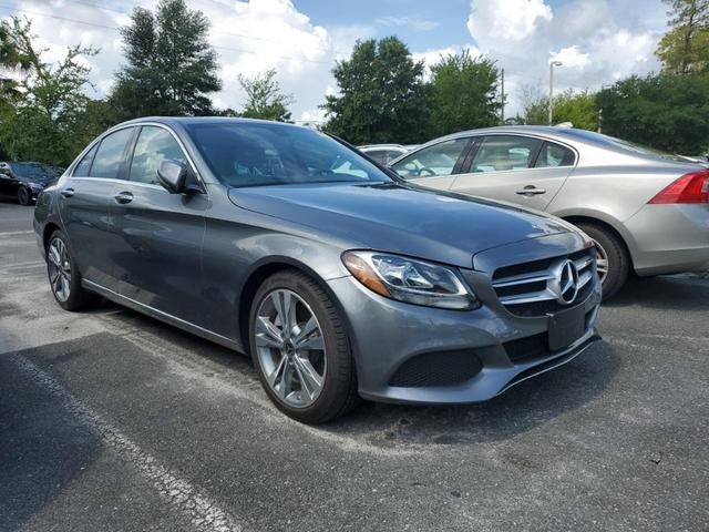 used 2018 Mercedes-Benz C-Class car, priced at $34,999
