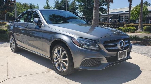 used 2018 Mercedes-Benz C-Class car, priced at $31,879
