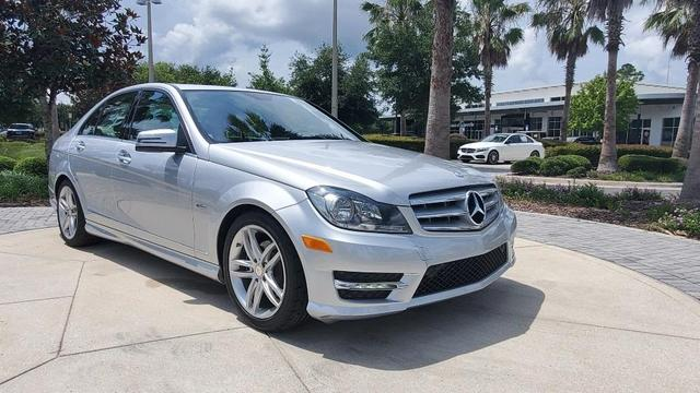 used 2012 Mercedes-Benz C-Class car, priced at $12,177