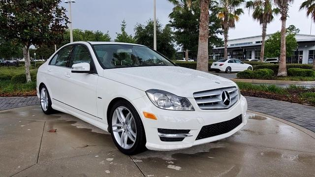 used 2012 Mercedes-Benz C-Class car, priced at $12,234