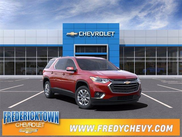 new 2021 Chevrolet Traverse car, priced at $37,445