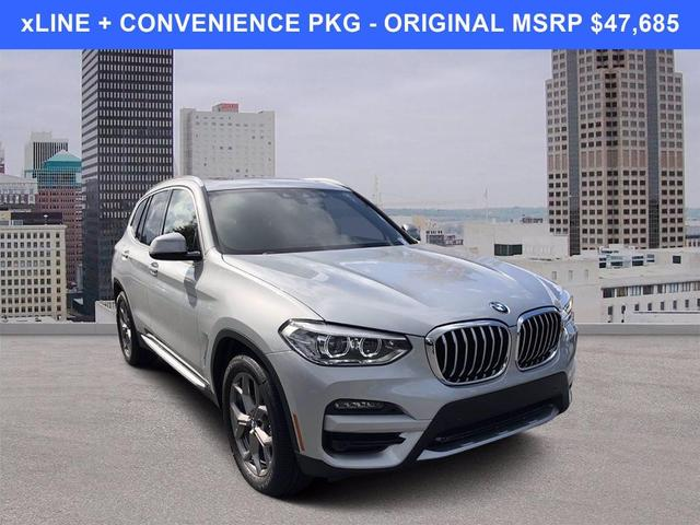 used 2021 BMW X3 car, priced at $37,685
