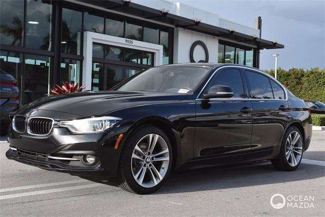 used 2018 BMW 330 car, priced at $25,900