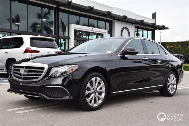 used 2019 Mercedes-Benz E-Class car, priced at $41,900