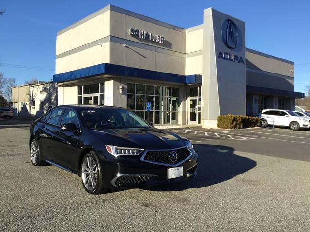 used 2020 Acura TLX car, priced at $31,988